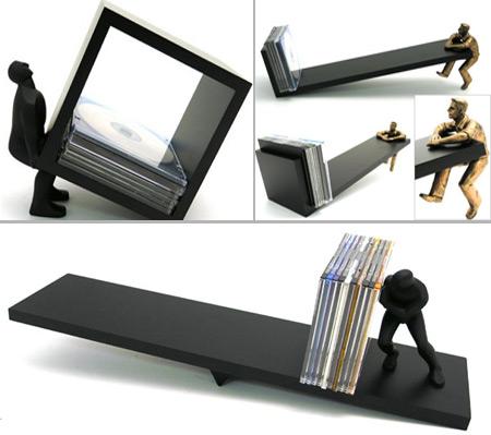 Soluciones creativas para guardar tus cd o dvd blogcruvi - Para guardar cds ...